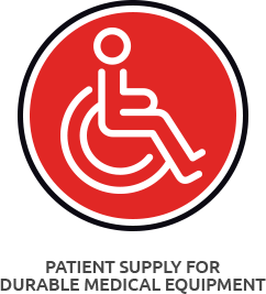 Icon Patient Suppy for Durable Medical Equipment